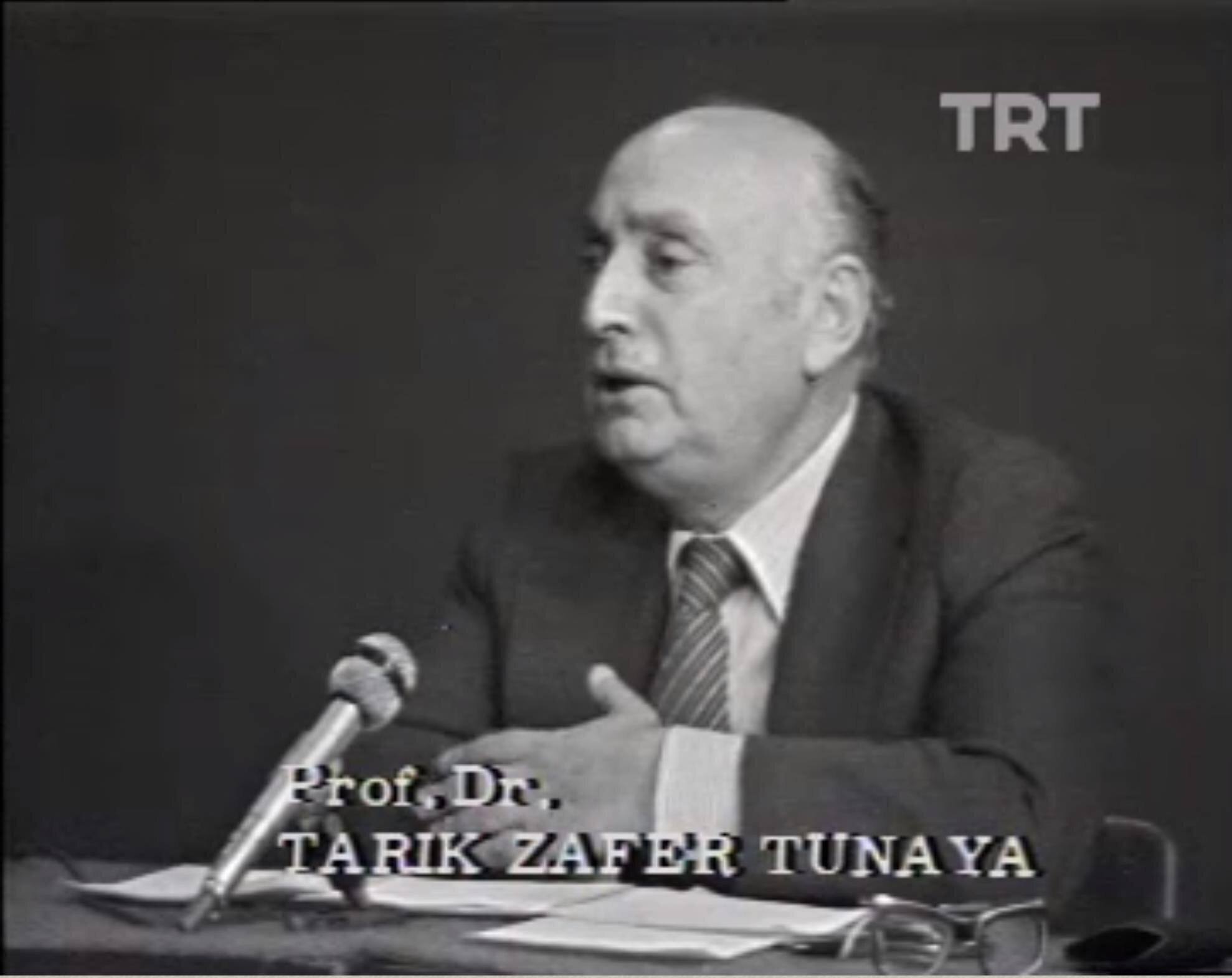 Anayasa Komisyonun üyesi Tarık Zafer Tunaya,