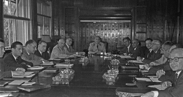 1960 darbesi sonrası kurulan 'Milli Birlik Komitesi'