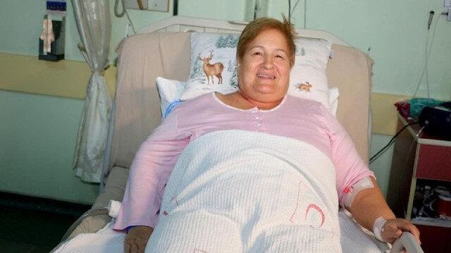 Kanser teşhisi konulan kadının akciğerinden ceviz kabuğu çıktı