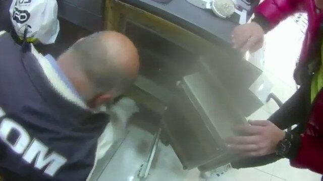 Tahtakale'de sahte ürün operasyonu