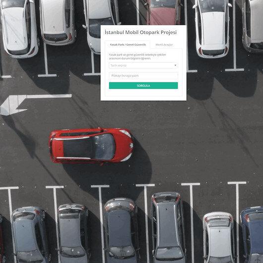 Aracınızın nereye çekildiğini gösterecek