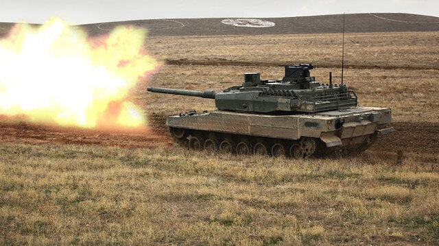 Altay tankının seri üretimine yönelik imzalar atıldı.
