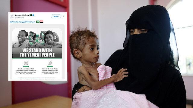 Suudi Arabistan'dan tepki çeken paylaşım: Yemen'in yanındayız