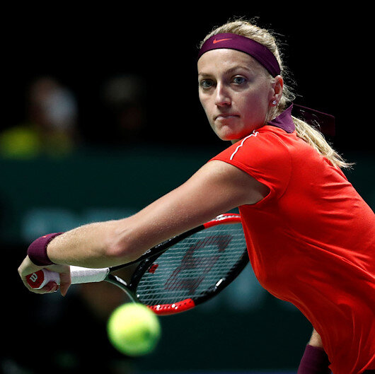 Czech Kvitova to miss first day of Fed Cup final