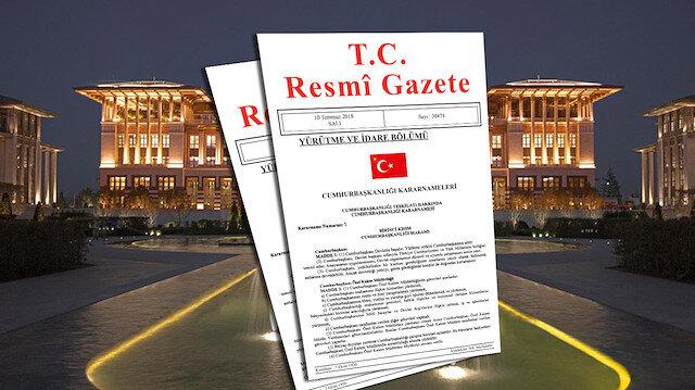 Atama kararları Resmi Gazete'de yayımlandı…