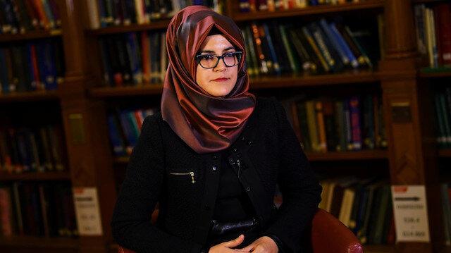 Suudi Arabistan'ın İstanbul Başkonsolosluğu'nda öldürülen Suudi gazeteci Cemal Kaşıkçı'nın nişanlısı Hatice Cengiz