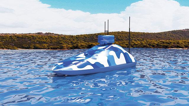 Yerli ve milli insansız deniz aracı da görücüye çıkıyor.
