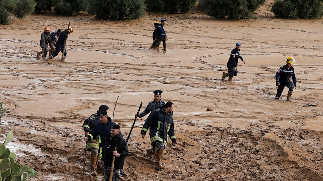 Eleven dead in flash floods in Jordan
