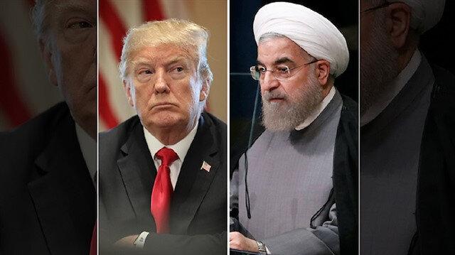 ABD Başkanı Donald Trump ve İran Cumhurbaşkanı Hasan Ruhani