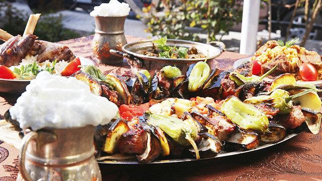Tokat'a ait yöresel yemekler.