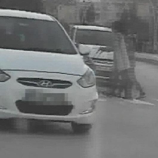 Yaya geçidinde anne ve bebeğe yol vermeyen sürücüye ceza