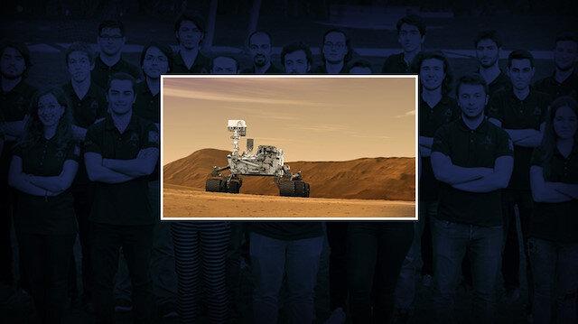 İTÜ Rover Takımı tarafından oluşturulan Rover, iddialı görüntüsüyle de dikkati çekiyor.