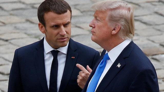 Trump'tan Macron'a: Avrupa önce NATO'ya borcunu ödesin
