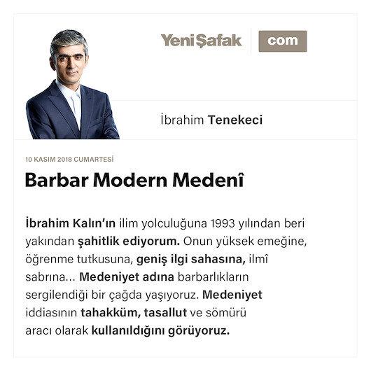 Barbar Modern Medenî