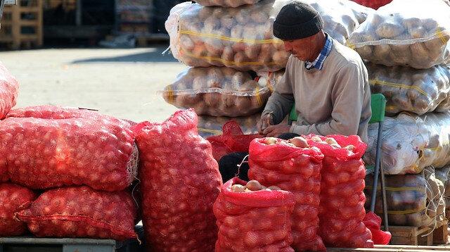 Soğandaki hastalık fiyatları iki katına çıkardı