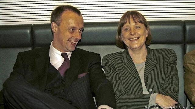 Friedrich Merz ve Angela Merkel