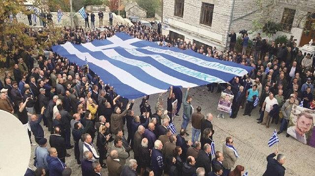Olay çıkaranların Arnavutluk'a girmelerine izin verilmeyeceğini açıkladı.