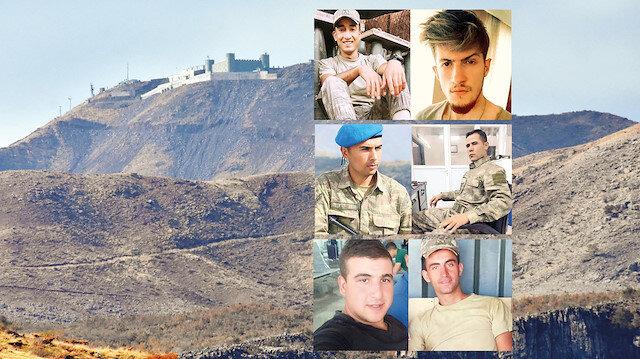 Hakkari'deki patlamada 7 asker şehit olurken 4'ü ağır 25 asker de yaralandı.