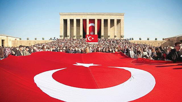 Gazi Mustafa Kemal Atatürk, vefatının 80'inci yılında