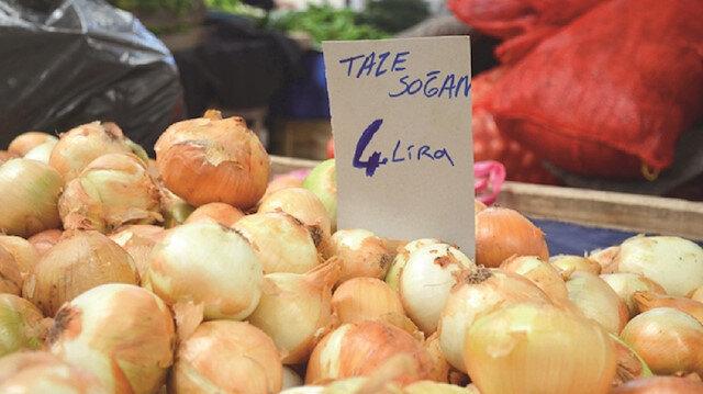 Soğan fiyatları zirve yaptı