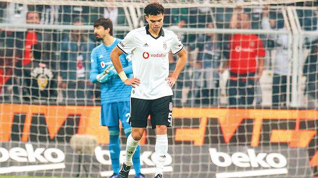 Beşiktaş'ta çöküş sürüyor