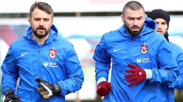 Trabzonspor'da Onur ve Burak kadro dışı kaldı