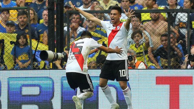 River Plate avantajı kaptı