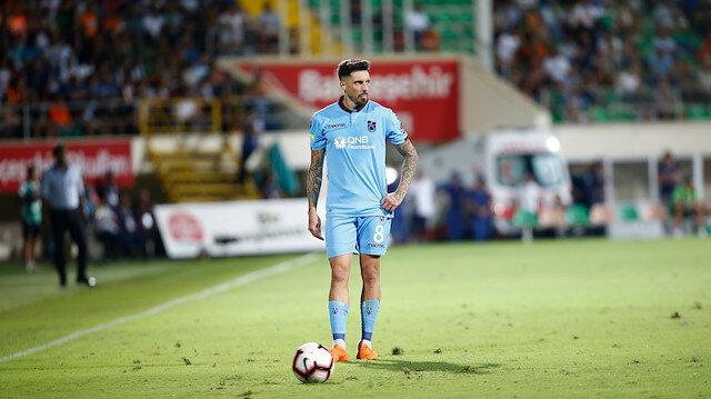 Trabzonspor'un birinci kaptanı Jose Sosa