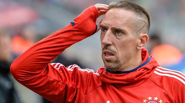 Ribery muhabire saldırdı