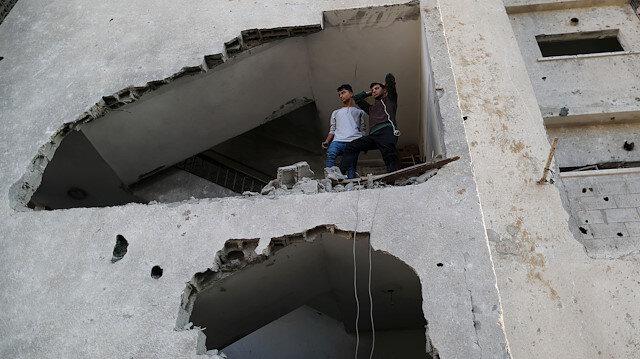 İsrail'in saldırıları sonrası Gazze'den manzaralar
