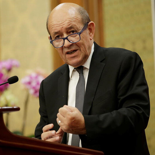 Fransa Dışişleri Bakanı Le Drian: Yanlış anlaşıldım