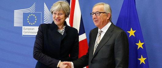 'Brexit' taslağı için anlaştılar