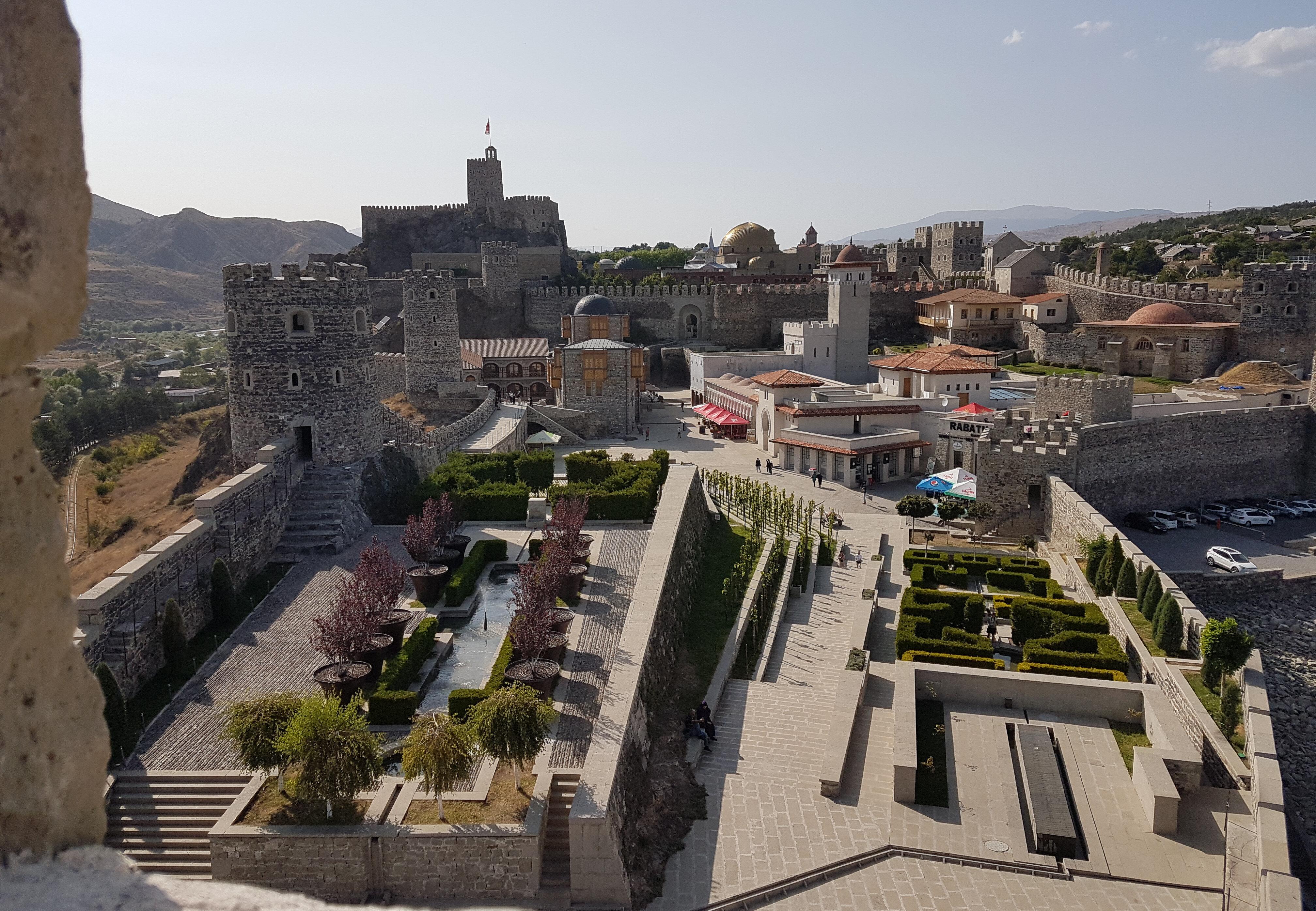 Gürcülerin Rabat Kalesi diye isimlendirdiği Ahıska Kalesi'nden bir kare. (Fotoğraf: Ruslan Ayvazov)