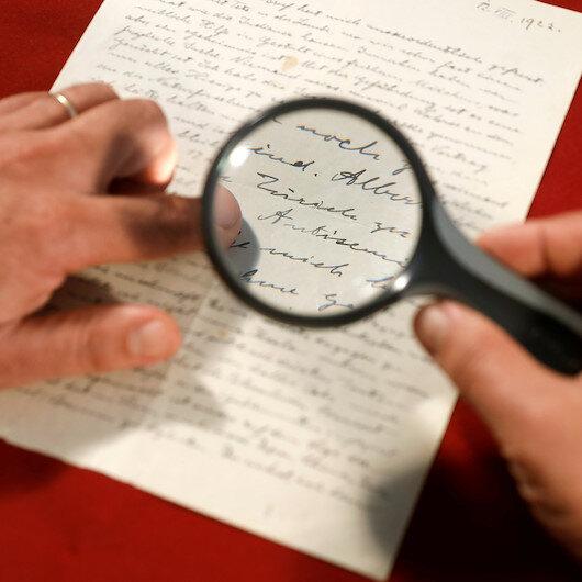 40 bin dolara satıldı: Einstein yazmış