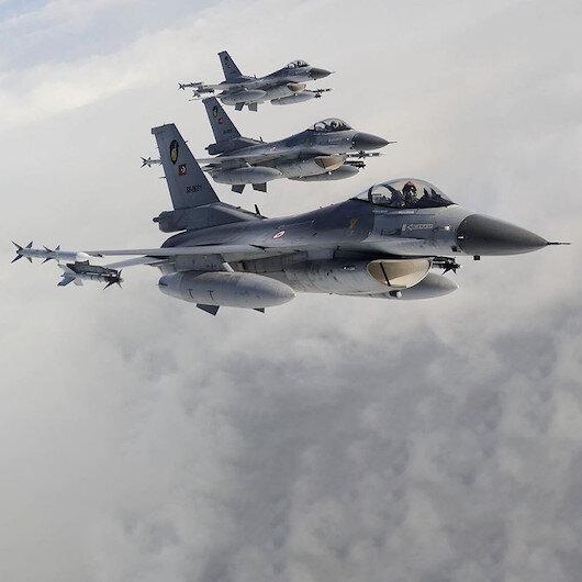 Irak'ın kuzeyindeki 5 bölgeye hava harekatı: 19 terörist etkisiz