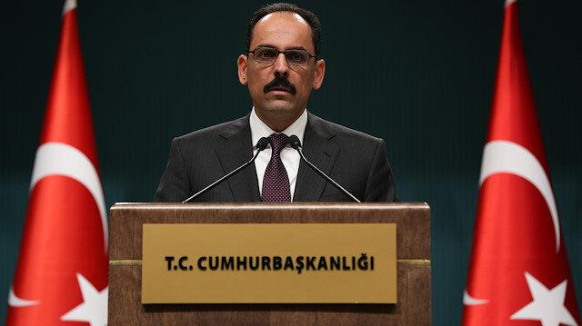 الرئاسة التركية تفند مزاعم اسرائيل حول الدفاع عن النفس