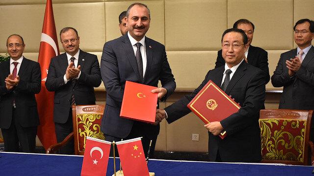 التعاون القضائي.. تركيا والصين توقعان مذكرة تفاهم في المجال