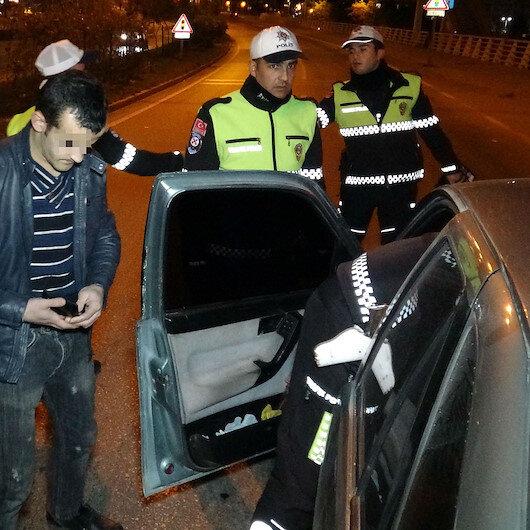 'Vatandaşı rahatsız etmiyorum' dedi ama polisi ikna edemedi