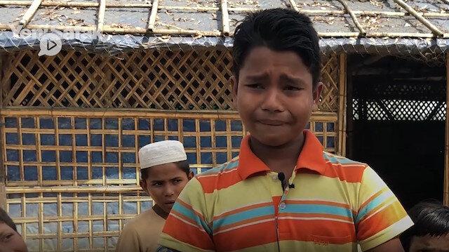 Arakanlı Muhammed: Annemi gözümün önünde öldürdüler