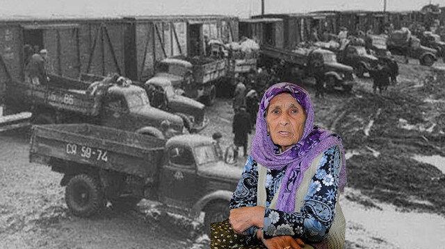 Ahıska Türklerinden Gülhanım Köse: Hayvan vagonlarında günlerce taşındık
