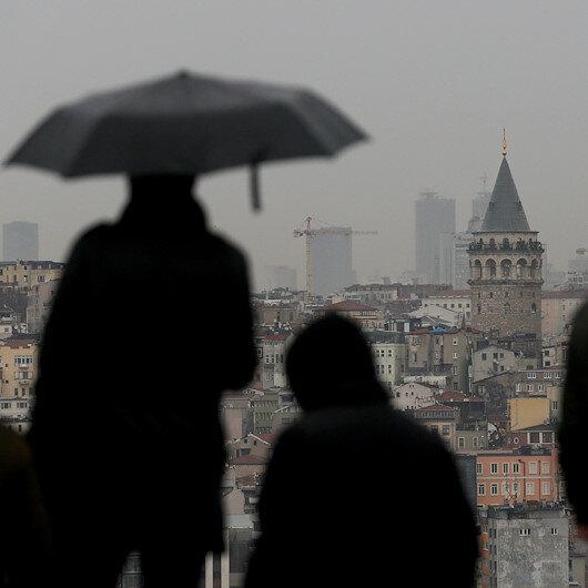Meteoroloji açıkladı: İstanbul'da yağış ne kadar sürecek