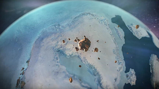 Keşfin, yerkürede kıtasal buz tabakaları altında keşfedilen ilk krater olduğu ifade edildi.