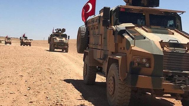 دورية مشتركة ثالثة بين الجيشين التركي والأمريكي في منبج