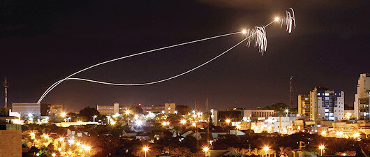 İsrail'de Demir Kubbe paniği