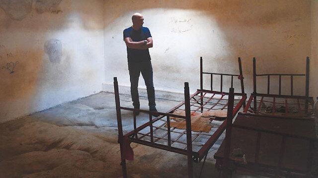 هذه غرف التحقيق والتعذيب عند