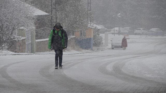 موسم الثلوج ينطلق شرقي تركيا