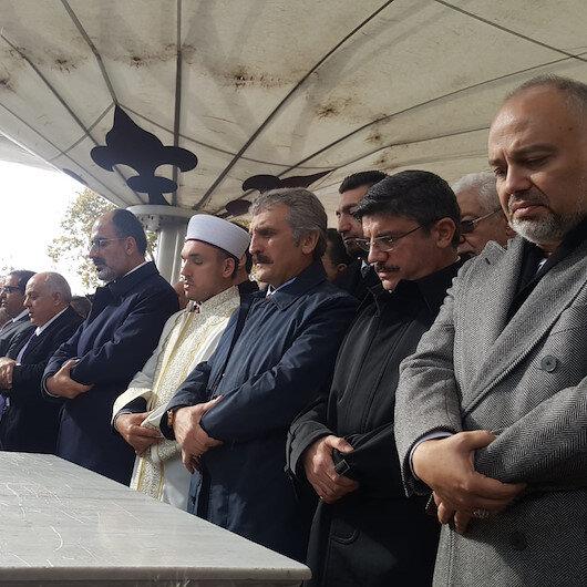 أثناء تأدية صلاة الغائب على خاشقجي في إسطنبول