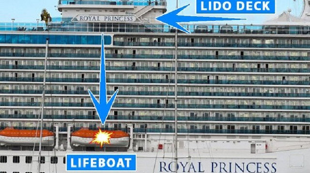 Man chokes, chucks woman off Royal Princess cruise ship in crime of passion