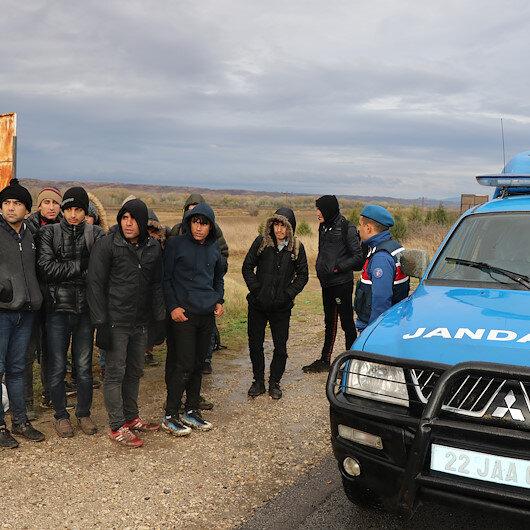 السلطات التركية تضبط 27 مهاجرا غير نظامي شمال غربي تركيا