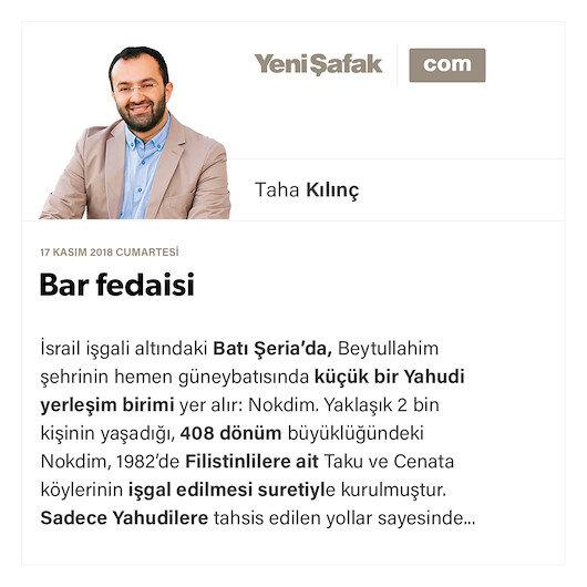 Bar fedaisi